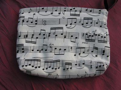 Music Score Purse
