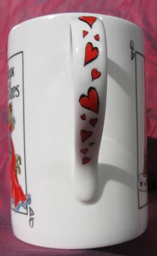 """Queen of Harps"" Bone China Mug"