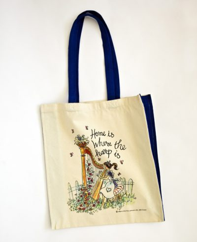 Canvas bag – long handled