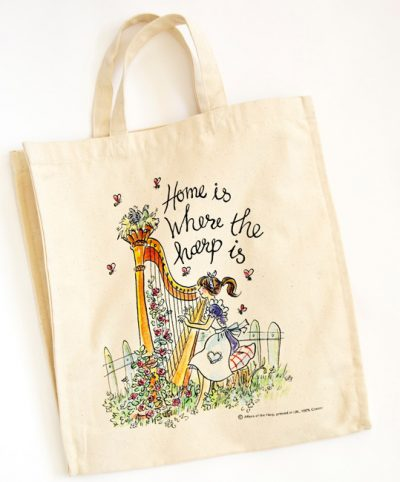 Canvas Shopping Bag - Short Handled