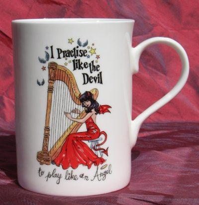 """""""I Practise Like the Devil"""" China Mug"""