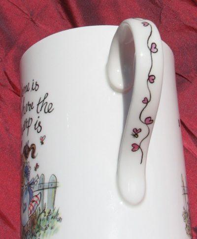 """Home is Where the Harp Is"" - China Mug"