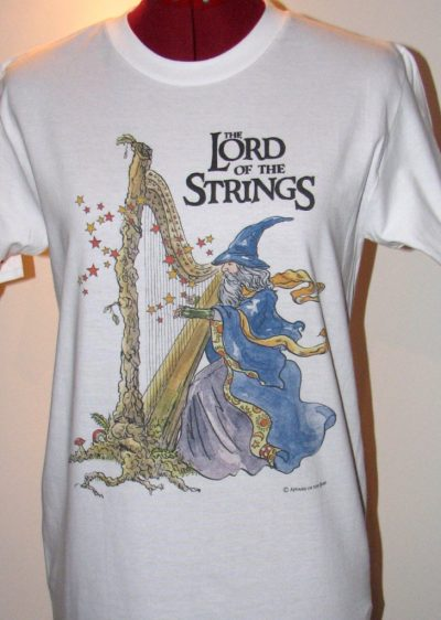 Lord Of The Strings- Tee Shirt