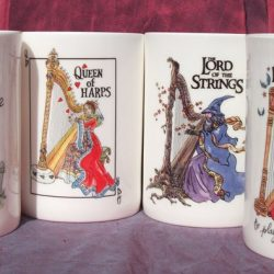China Mugs Set of 4