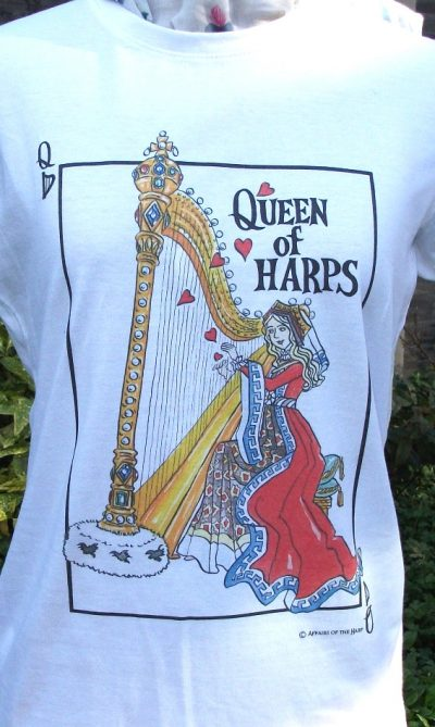 """Queen of Harps"" Tee Shirt"