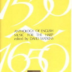 Anthology of English Music for the Harp ed David Watkins