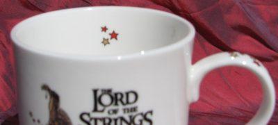 """""""Lord of the Strings"""" China Mug"""